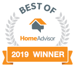 Best Electric Service winner in 2018 at Home Advisor